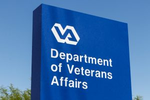 Picture of the Department of Veterans Affairs sign