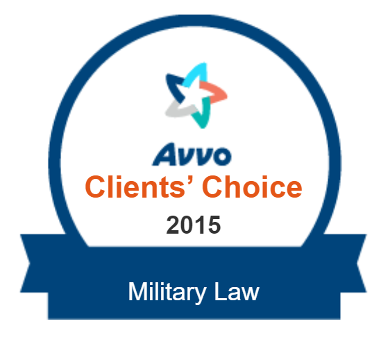 Logo for Avvo Clients' Choice 10.0 Rating