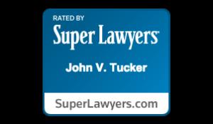 Logo for Super Lawyers John V. Tucker