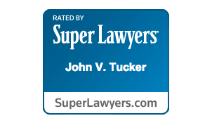 Logo for Super Lawyers John V. Tucker