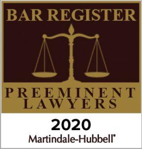2020 Preeminent Lawyer Badge - John Tucker
