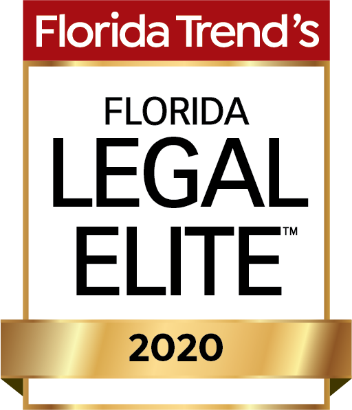 Logo for Florida Trend's Florida Legal Elite 2020