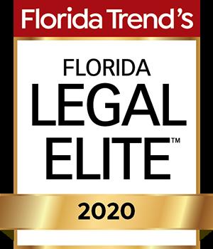 Logo for Florida Trend's Florida Legal Elite 2020