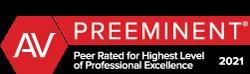 AV® Preeminent™ Peer Review RatingSM